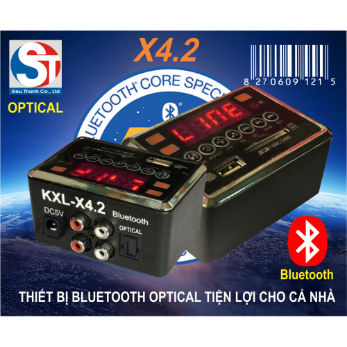 BLUETOOTH OPTICAL KXL X4.2