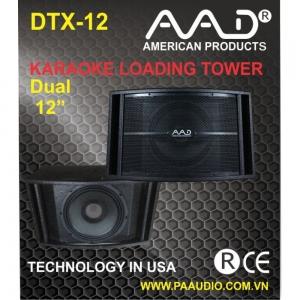LOA ĐỒNG TRỤC AAD DTX12